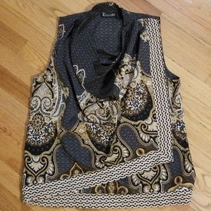 7th Avenue scarf blouse